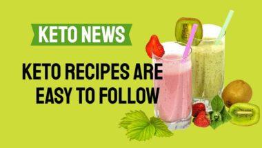 Keto Recipes are Easy to Follow