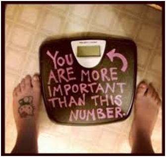 7 Weight Loss Myths and Facts weighing scale